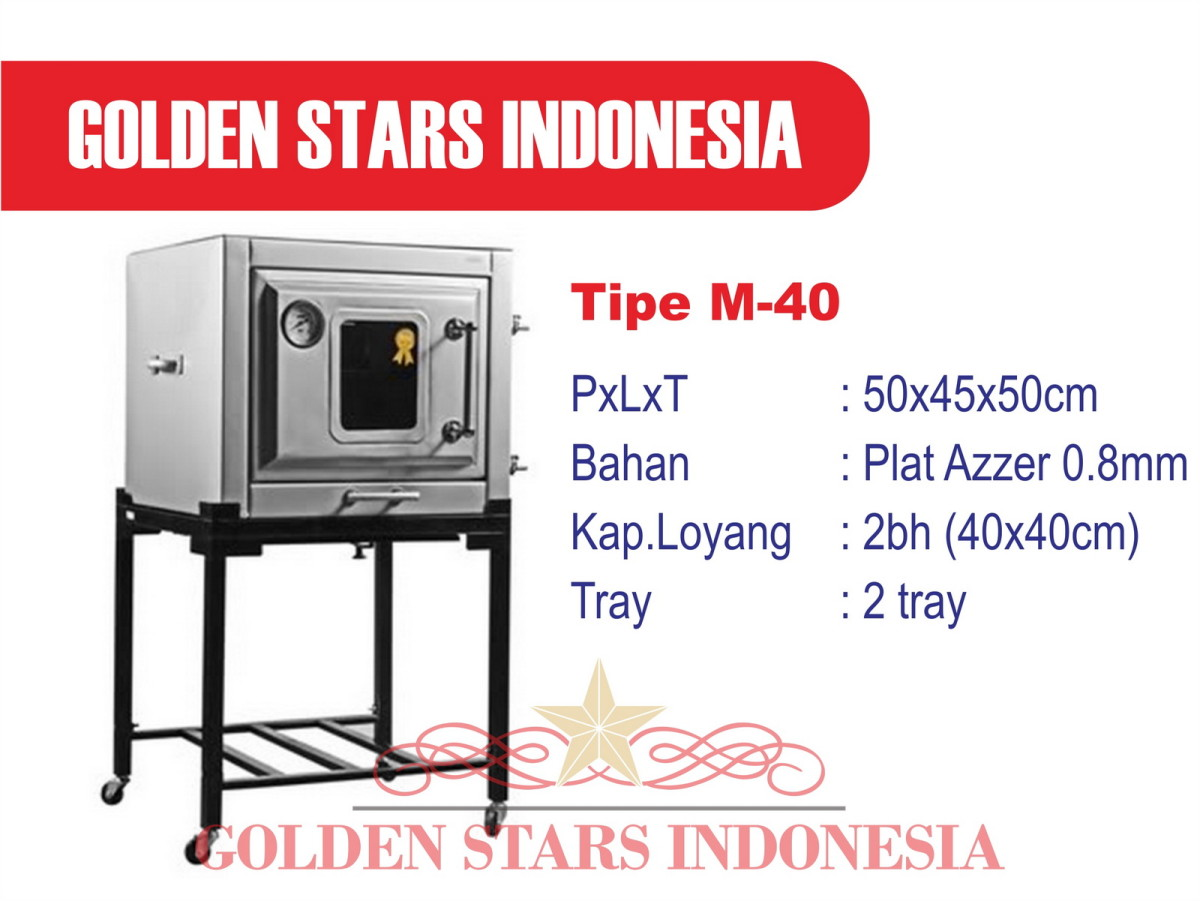 Oven Gas Murah, Oven Gas Kecil, Oven Gas Golden Stars