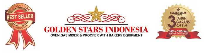 Best Seller Oven Gas Golden Stars