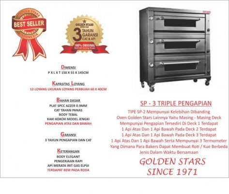 Jual oven gas golden star di tarakan