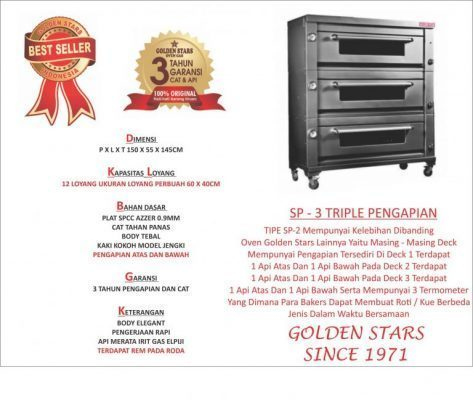 Jual Oven Kue Golden Star Di Praya Tlp 081321009900