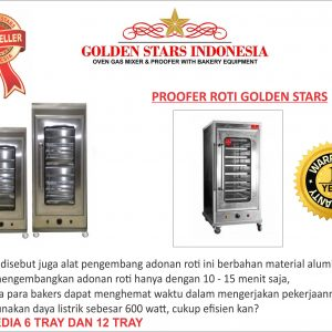 PROOFER ROTI GOLDEN STARS