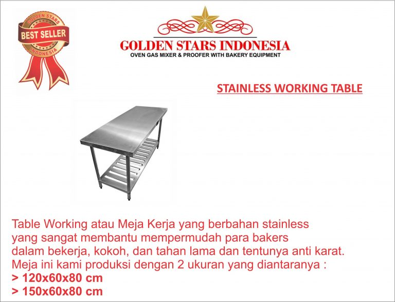 STAINLESS WORKING TABLE