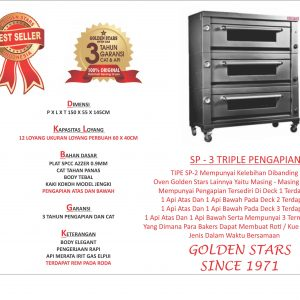 Jual Oven Gas Golden Star Di Banjarmasin Tlp 081321009900